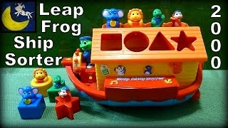 LeapFrog Ship Ahoy Shape Sorter Review