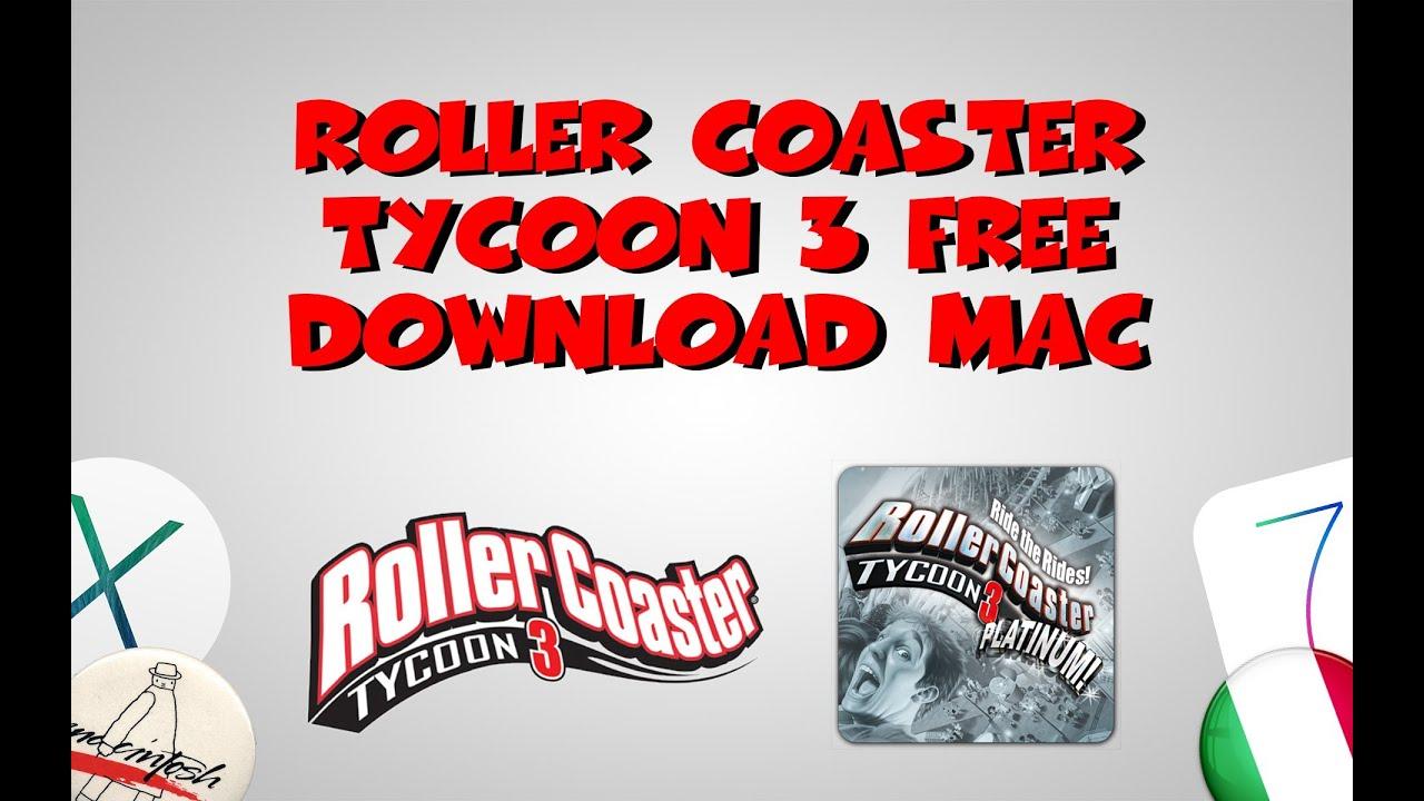 Roller Coaster Tycoon 3 Platinum Free Download Mac