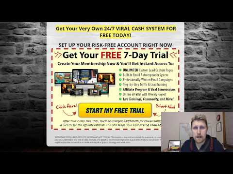 Power Lead System - Best Way To Make Money Online In 2018 - Start Creating A Residual Income Today