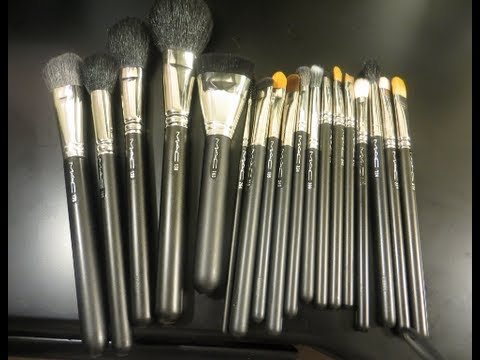 MAC brush collection 2013 (beginner suggestions!!!!) - YouTube