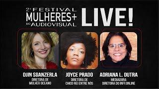 2o MULHERES | Live 04 Djin Sganzerla & Joice Prado