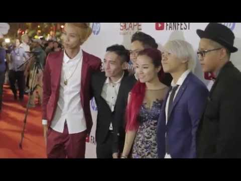 YouTube FanFest Singapore Red Carpet 2015