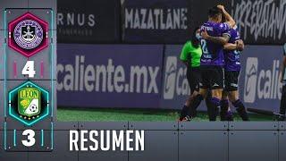 Mazatlán FC  4-3 León | Resumen | Liga BBVA MX