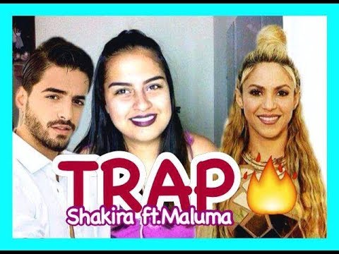 video-reacion-a-la-cancion-de-shakira-ft.-maluma--trap//-hey-lis