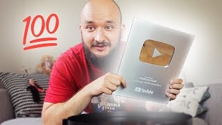 UNBOXING | SILVER BUTTON ZA 100 000 SUBS!!!