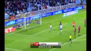 10ª Jornada  Real Zaragoza 3 Mallorca 2 (Gol de Lafita)
