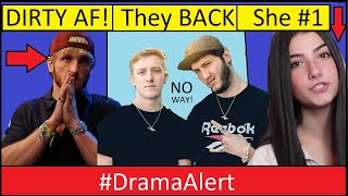 Logan Paul done DIRTY! #DramaAlert Banks & Tfue Back Together! Charli D'Amelio #1