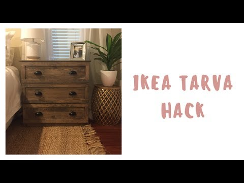 diy modern ikea tarva hack. DIY | IKEA Tarva Hack Master Bedroom Refresh Diy Modern Ikea Tarva Hack