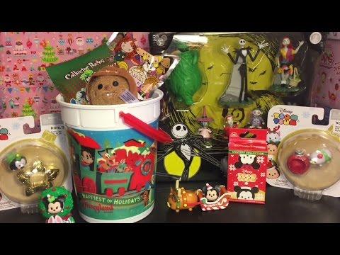 disney-toys-&-blind-bags-opening:-tsum-tsums,-pins,-figural-keyrings,-mini-figures