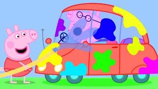 Peppa Pig en Español Episodios completos | Aviones, trenes y automóviles | Pepa la cerdita