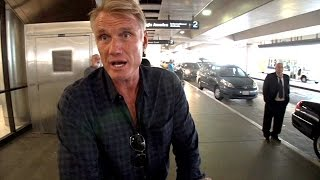 """Dolph Lundgren Commiserates With Brad And Angelina, """"It Sucks"""""""