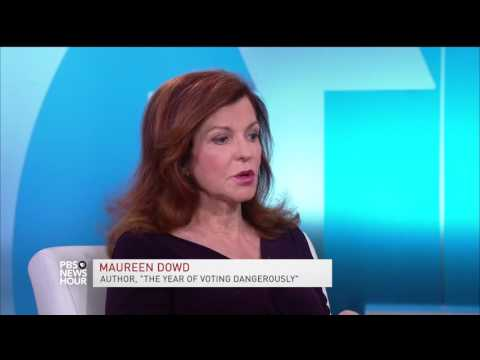 Maureen Dowd on why politics in 2016 sounds like a 'primal scream and death rattle'