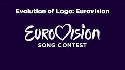 Evolution of Logo: Eurovision Song Contest