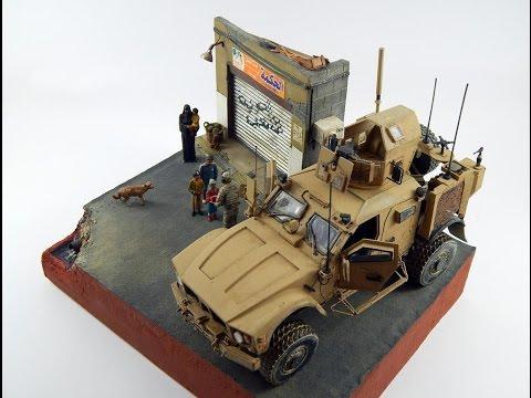 """1/35 M-ATV Diorama """"Have a Break..."""" - Kinetic Kit"""