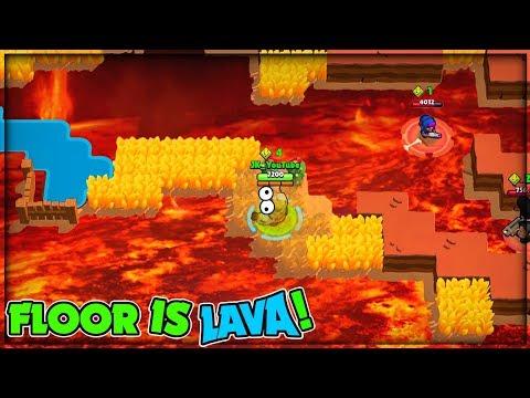 FLOOR IS LAVA 🔥 CHALLENGE! :: Brawl Stars