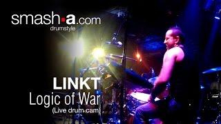 smash-a LOGIC OF WAR at Alhambra Paris / drum cam