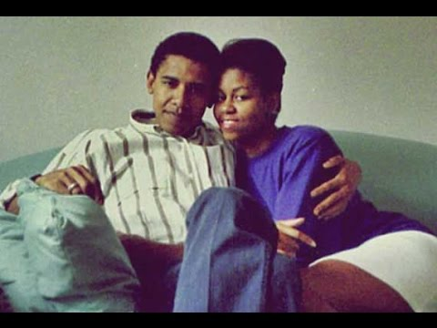 Unseen, Rare Photos of Barack Obama and Michelle Obama.