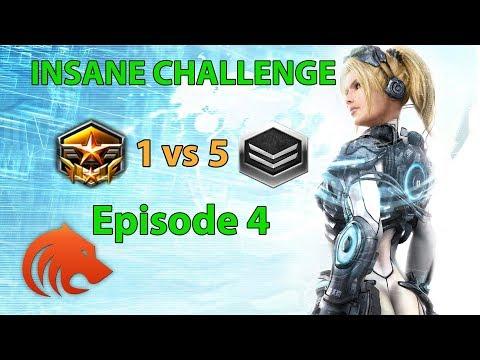 StarCraft 2: Grandmaster 1 vs 5 Silver Players - INSANE CHALLENGE Episode 4