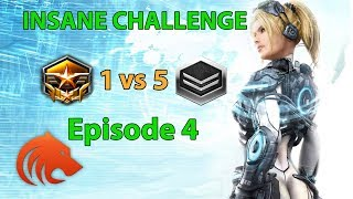 StarCraft 2: Grandmaster 1 vs 5 Silver Players - INSANE CHALLENGE Episode 4