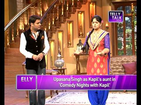 UNCUT Comedy Nights with Kapil : Upasna Singh as Kapil Sharma's aunt in the show