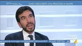Vittorio Sgarbi furioso contro Maurizio Martina: