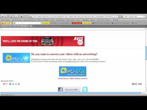 Convert Youtube VIdeo's to MP3's (Songs & Etc) FREE !!