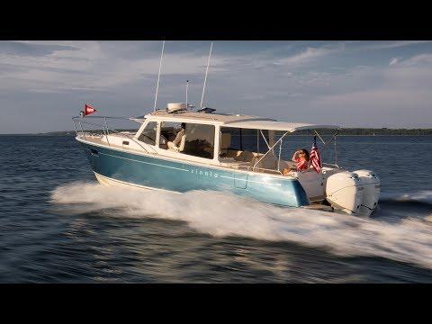 Sea Trials of the MJM 35z