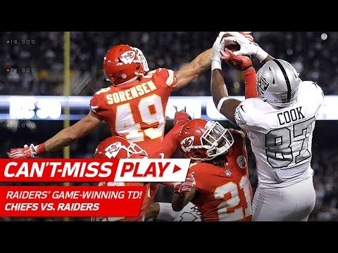 A Series of Unbelievable Plays Cap Off Raiders' Game-Winning TD Drive! | Can't-Miss Play | NFL Wk 7