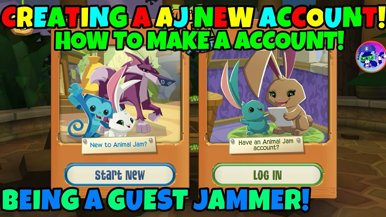 How To Make An Account In Animal Jam Play Wild!