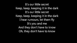 Daya ~ Keeping it in the dark Lyrics