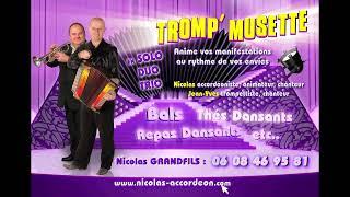 Nicolas Grandfils en Duo Tromp'Musette – Pub