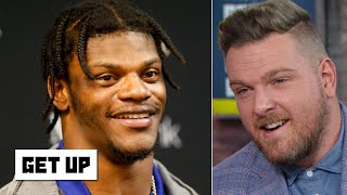 Pat McAfee: Crown Lamar Jackson as MVP right now! | Get Up