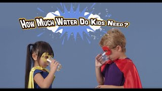 How Much Water Do Kids Need?
