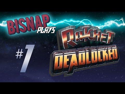 Let's Play Ratchet: Deadlocked Episode 1 - DreadZone Station I