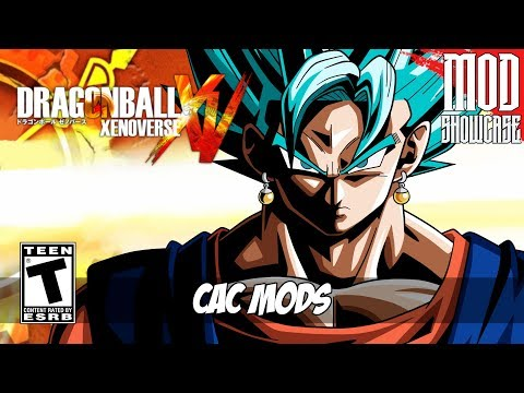 Dragon Ball Xenoverse (CAC MODS) [PC - HD]