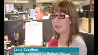 Wolters Kluwer España Best place to work 2009 | www.wolterskluwer.es