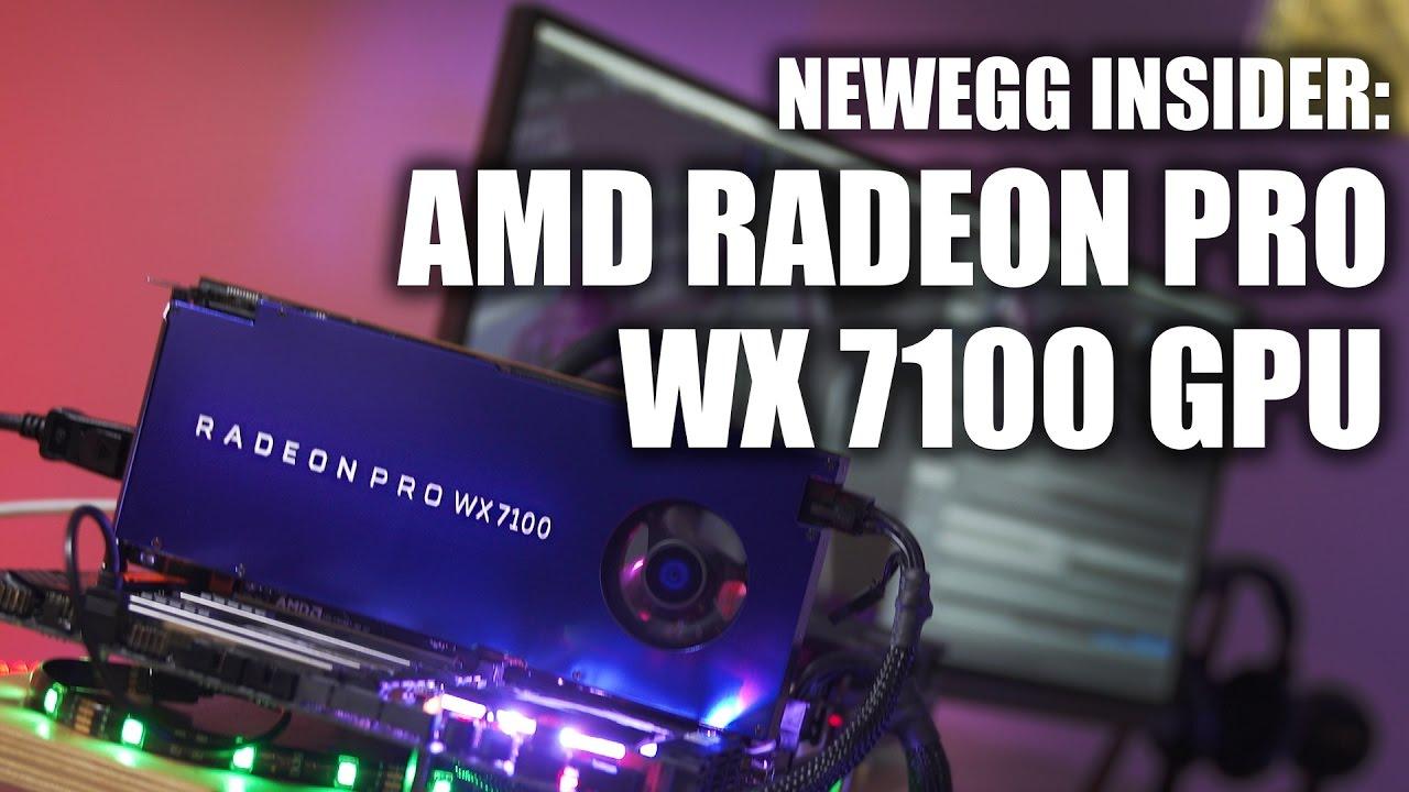 Newegg Insider: AMD Radeon WX7100 Graphics Card