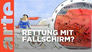 Wieso gibt es in Flugzeugen keine Fallschirme? | Wer nicht fragt, stirbt dumm | ARTE