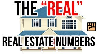 """Toronto to Victoria - The """"Real"""" Real Estate Numbers"""