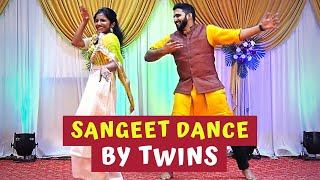 Sangeet Dance Performance by Cousins | The Crew Dance Company Choreography