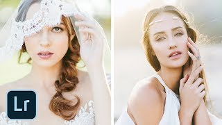 EDITING Natural Light Portraits in Lightroom | Light and Airy Photography Tutorial