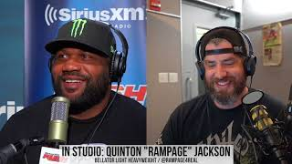 Rampage Jackson Doesn't Think a Union Is Likely to Work in MMA | Luke Thomas