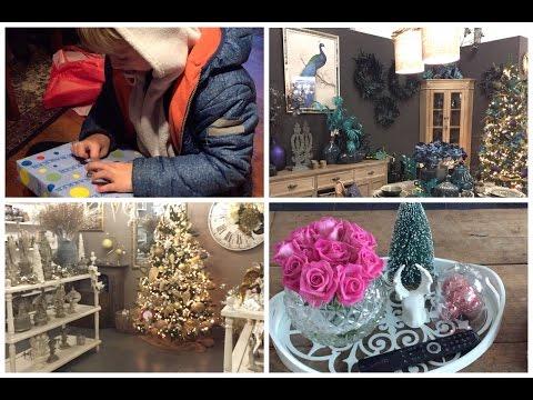 Vlog- decoração de natal nas lojas- sopa- café com amigas