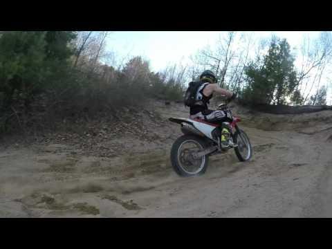 Kx250f Trail Ride