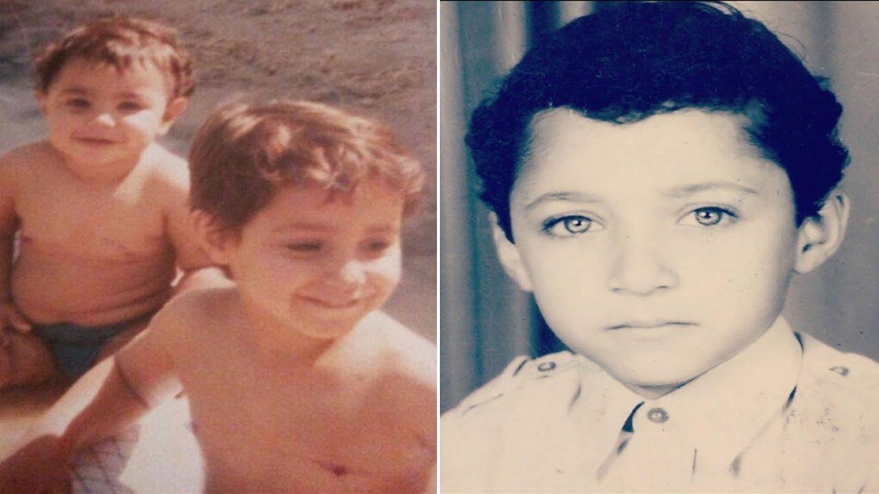 تعرف على هذا الطفل الذي أصبح ممثلاً مصرياً شهيراً وشاهد أجمل القطات مع زوجته وطفليه عمر وحسن