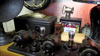 'RADIODYNE' ATWATER KENT' 4340 BREADBOARD RADIO - 100% ORIGINAL