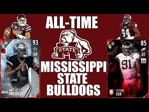 All-Time Mississippi State Bulldogs Team - Dak Prescott and Fletcher Cox! - Madden 17 Ultimate Team