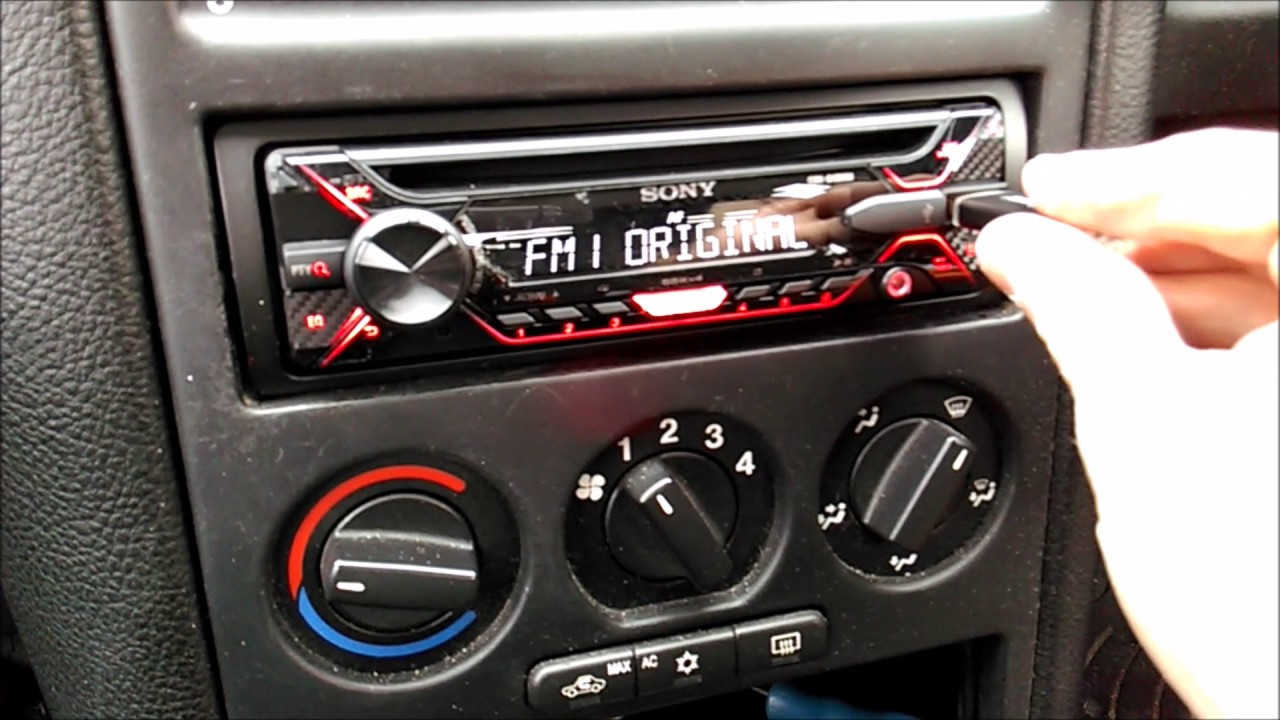 Replacing a Stereo in a Mk 4 Astra  YouTube
