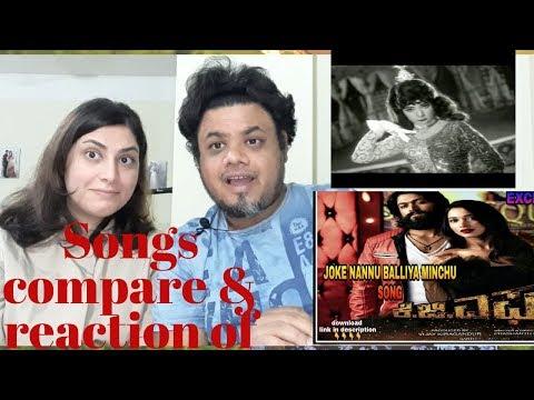 #Jokae Song with Lyrics of KGF  jokae song of Paropakari  Foreigner Reaction  North indian Reaction  Mp3