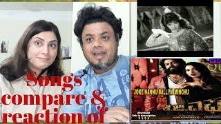 #Jokae Song with Lyrics of KGF| jokae song of Paropakari |Foreigner Reaction| North indian Reaction|